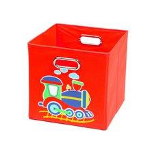 Train Folding Toy Storage Bin