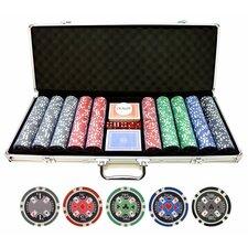 500 Piece Casino Ace Poker Chip Set