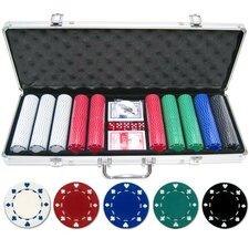 500 Piece Suited Poker Chip Set