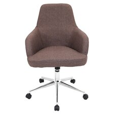 Degree Adjustable Mid-Back Office Chair