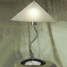 "Contemporary Lighting Doeli Touch 19"" H Table Lamp  with Cone Shade"