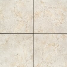 "Brancacci 12"" x 12"" Ceramic Field Tile in Aria Ivory"