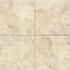 "Brancacci 18"" x 18"" Ceramic Field Tile in Windrift Beige"