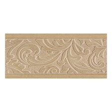 "Brixton 9"" x 4"" Decorative Wall Accent Tile in Mushroom"