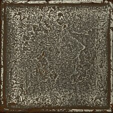 Metal Signatures Chateau Stone Glazed Field Tile in Aged Iron