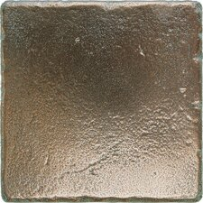 Metal Signatures Tumbled Stone Field Tile in Aged Bronze