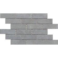 """Concrete Connection 2"""" x 6"""" Porcelain Mosaic Tile in Steel Structure"""