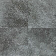 Continental Slate 12'' x 18'' Porcelain Field Tile in English Grey