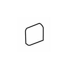 "Sandalo 2"" x 2"" Radius Bullnose Corner Tile Trim in Raffia Noce (Set of 2)"