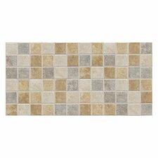 "Sandalo 2"" x 2"" Ceramic Mosaic Tile in Universal"