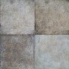 Terra Antica 6'' x 6'' Porcelain Field Tile in Grigio