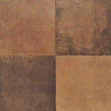 Terra Antica 6'' x 6'' Porcelain Field Tile in Rosso