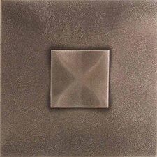 "Urban Metals 2"" x 2"" Geo Decorative Dot in Bronze"