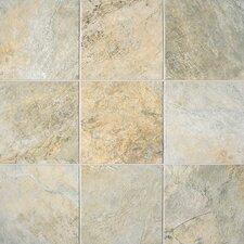 Franciscan Slate 11.75'' x 11.75'' Porcelain Field Tile in Desert Crema