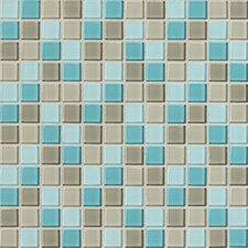 "Isis 1"" x 1"" Ceramic Mosaic Tile in Whisper Blend"
