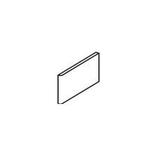 """Rittenhouse Square 6"""" x 3"""" Bullnose Tile Trim in Desert Gray (Set of 4)"""
