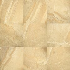 Ayers Rock 6.5'' x 6.5'' Porcelain Field Tile in Golden Ground