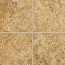 Heathland 12'' x 12'' Ceramic Field Tile in Amber
