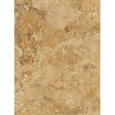 Heathland 9'' x 12'' Ceramic Field Tile in Amber