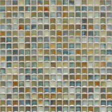 """Fashion Accents 0.63"""" x 0.63"""" Glass Mosaic Tile in Lake"""