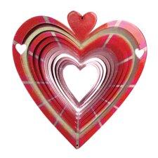Designer Heart Wind Spinner