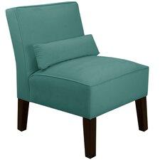 Velvet Slipper Chair