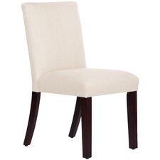 Linen Uptown Side Chair