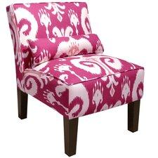 Himalaya Upholstered Slipper Chair