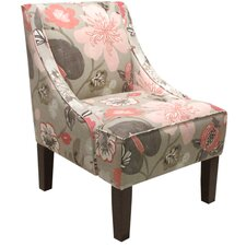 Swoop Arm Chair in Gorgeous Blossom