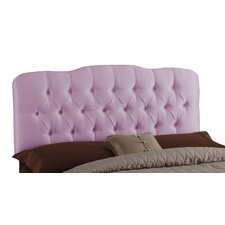 Tufted Shantung Arch Upholstered Headboard