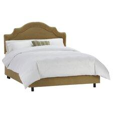Velvet Panel Bed