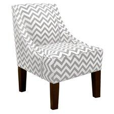 Zig Zag Swoop Arm Chair