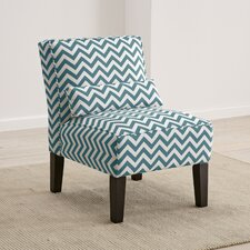 Zig Zag Slipper Chair