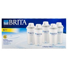 Brita Pitcher Filters (Set of 5)