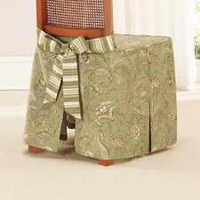 Waverly Dining Chair Skirted Slipcover