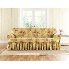 Sofa Skirted T-Cushion Slipcover