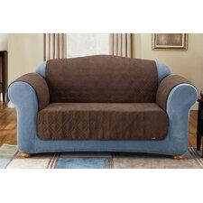 Soft Suede Furniture Friend Sofa Cover in Chocolate