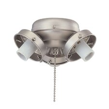 Three Light Ceiling Fan Light Fitter