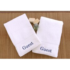 Luxury Hotel & Spa Personalized Hand Towels (Set of 2)