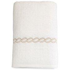 Cadena Embroidered Soft Twist Bath Towel