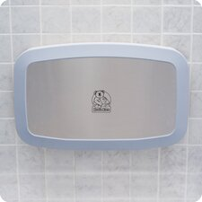 Baby Changing Station Horizontal Wall Mount with Stainless Steel Veneer