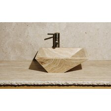 Irregular Rectangular Vessel Bathroom Sink