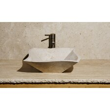Curve Shape Vessel Bathroom Sink