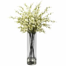 Giant Cherry Blossoms in Vase