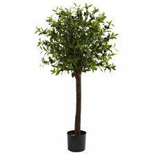 Nearly Natural Olive Round Topiary in Pot