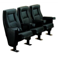Contour Row of Three Movie Theater Chairs