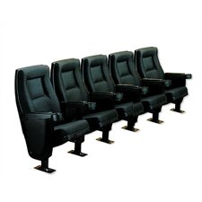 Contour Row of Five Movie Theater Chairs