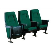 Presidential Row of Three Movie Theater Chairs