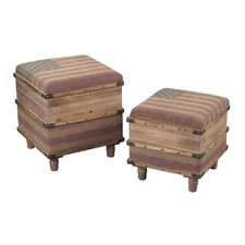 2 Piece National Storage Ottoman