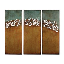 3 Piece Hollingworth Abstract Landscape Wall Décor Set